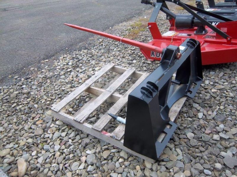 Jim's Equipment Repair | Universal Skid Steer - Quick Attach - 49 inch Bale Spear