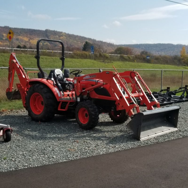 2017 Kioti NX4510 4WD Tractor - Loader - Backhoe | Pre-Owned